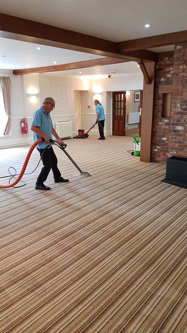 Carmarthenshire Carpet Care carry out commercial cleaning in offices and business premises.